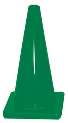 """18"""" Green Heavy Weight Cone"""