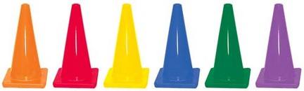 """18"""" Heavy Weight Cones - Set of 6"""