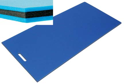 "1"" 3-Ply Student Exercise Mat - 1"" x 24"" x 48"""