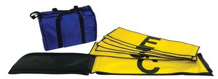 Yellow / Black Adjustable Line Split Strip