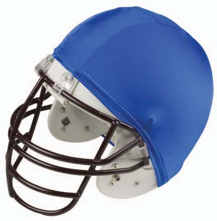 Economy Football Helmet Covers (Blue) - 1 Dozen