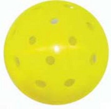 Seamless Pickle Ball® Balls (Yellow) - 1 Dozen