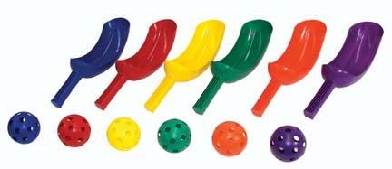 Rainbow Scoop Set