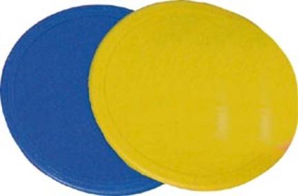 "5"" Poly Spots / Markers (Yellow) - 1 Dozen"