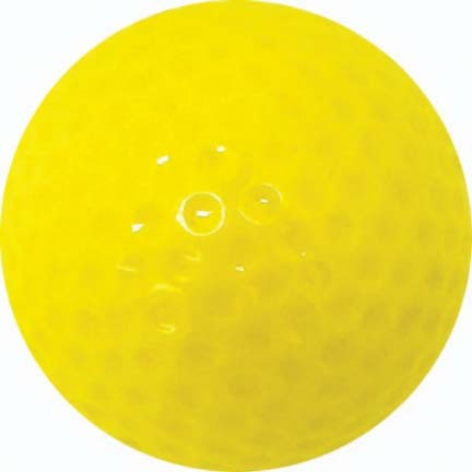 Yellow Golf Balls (4 Sets of 12, Total of 48)