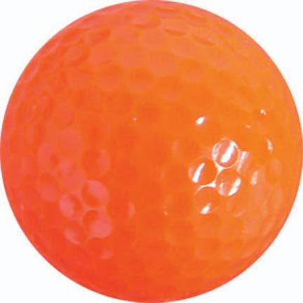Orange Golf Balls (4 Sets of 12, Total of 48)