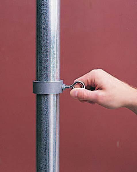 "Single Game Standard 2"" Diameter Pole Collar (Set of 4)"