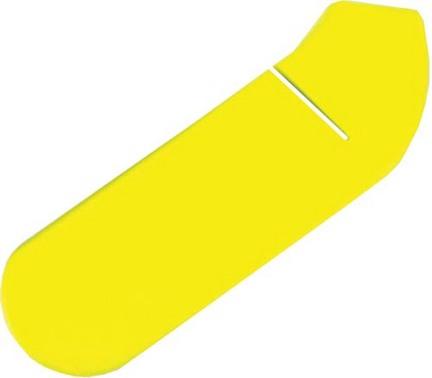 Yellow Foam Hockey Stick Blade Cover