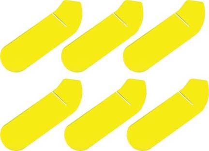 Yellow Foam Blade Covers (Set of 6)