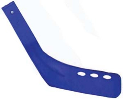 "Replacement Hockey Stick Blades (Blue) for 36"" Hockey Sticks - Set of 6"