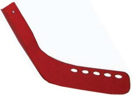 "Replacement Hockey Stick Blades (Red) for 42"" Hockey Sticks - Set of 6"