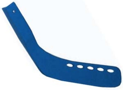 "Replacement Hockey Stick Blades (Blue) for 42"" Hockey Sticks - Set of 6"
