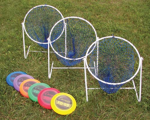 Low Disc Golf Target Sets (Includes 6 Targets and 12 Discs)
