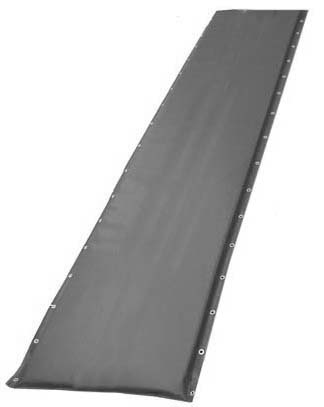 """20"""" Black Protective Post Pad (For Posts 2.75"""" to 4"""")"""