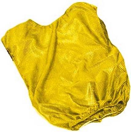 Adult Yellow Mesh Game Vests - Set Of 6