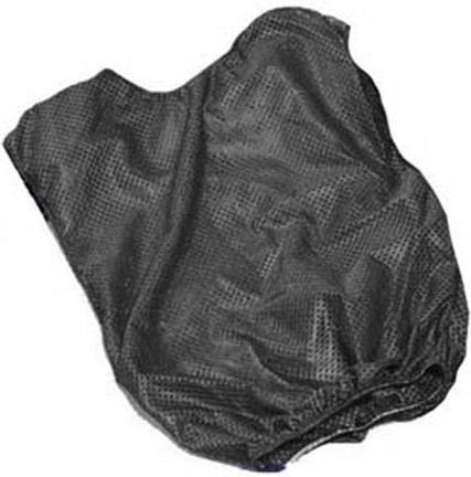 Adult Black Mesh Game Vests - Set Of 6