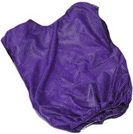 Youth Purple Mesh Game Vests - Set Of 6