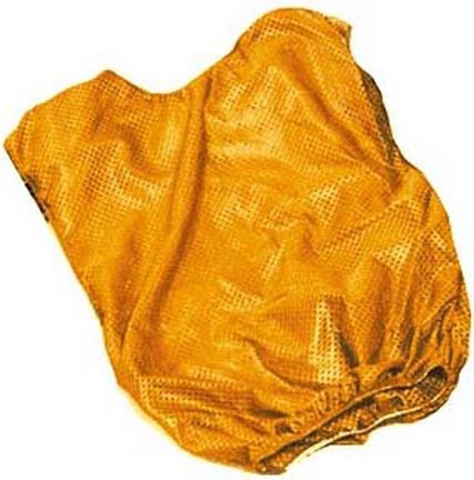 Adult Orange Mesh Game Vests - Set Of 6