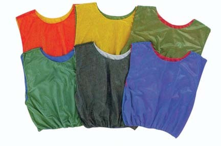 Blue / Red Reversible Scrimmage Vests Set of 8