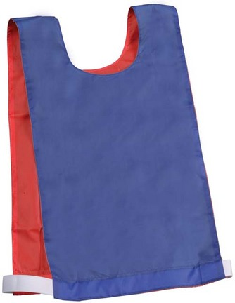 Reversible Blue / Red Pinnies - 1 Dozen
