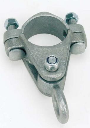 """3 1/2"""" O.D. Metal Pipe Swing Hanger (Set of 2)"""