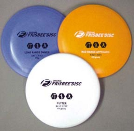 Frisbee 3-Pack Golf Flying Discs OLY-PG140P-3