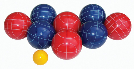100 mm Halex Resin Bocce Ball Set