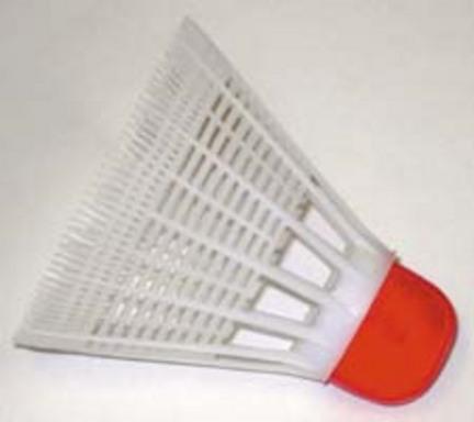 Plastic Badminton Shuttlecocks - 2 Dozen