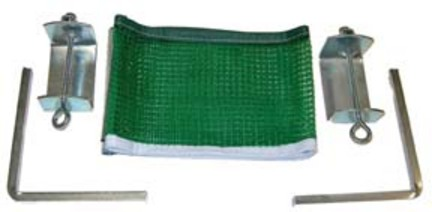 Slip-On Table Tennis Net and Post Set