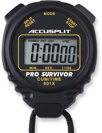 Accusplit Black Pro Timer (Set of 2) OLY-TL065P-3