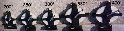400' (120 Meters) Fiberglass Measuring Tape with Open Reel