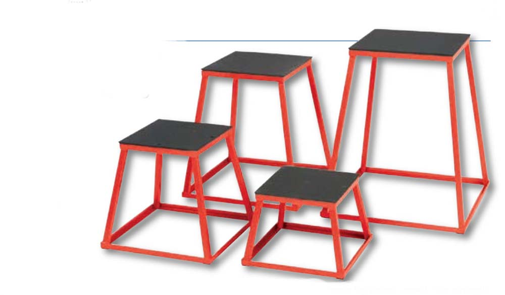 Deluxe Steel Plyo Boxes (Set of 5)