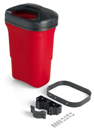 9 Gallon Trash Mate Trash Receptacle Single Unit
