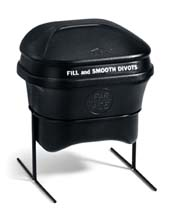 4 Gallon Divot Mate Divot Mix Container with Low Stand