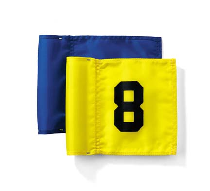 Jr. Golf Flags (Solid) - Set of 9