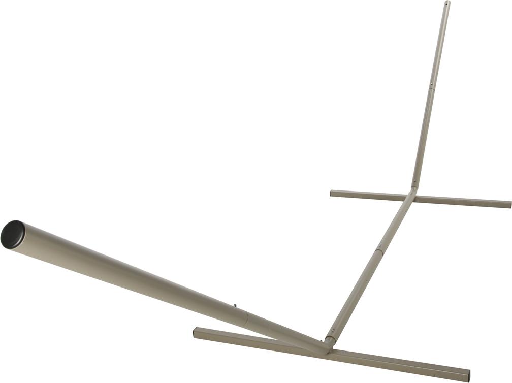 "Castaway Steel ""KD"" Hammock Stand (Taupe)"