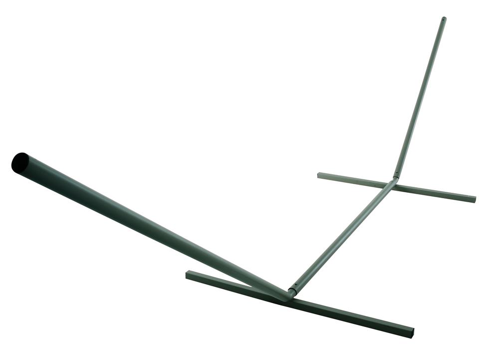 Castaway Large Steel Hammock Stand (Green)