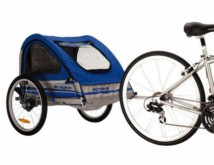Schwinn Trailblazer Double Seated Trailer