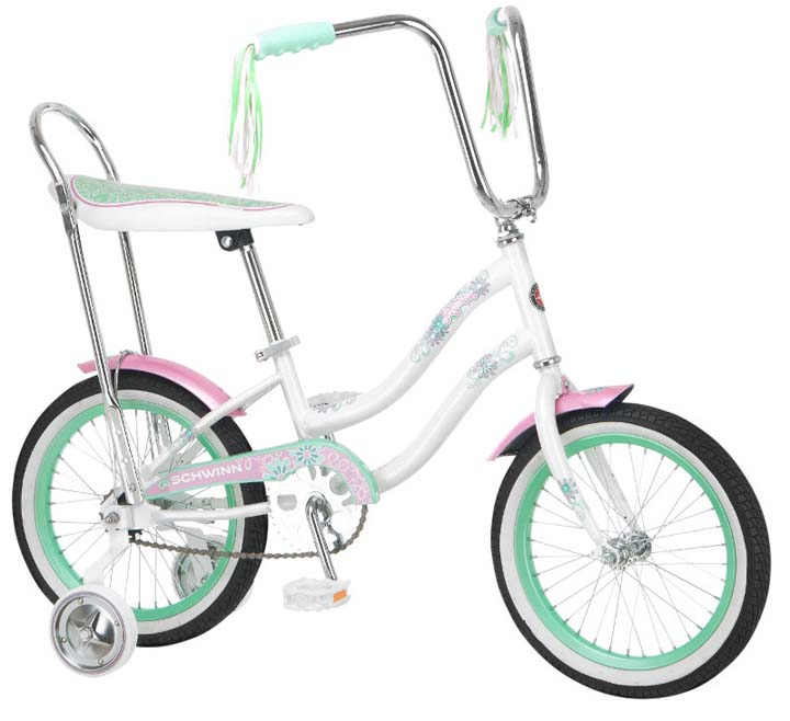 "Schwinn S1681B Jasmine 16"" Girl's Polo Bike in White"