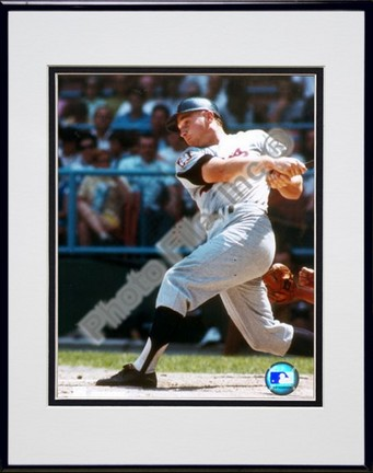 """Harmon Killebrew Double Matted 8"""" X 10"""" Photograph in Black Anodized Aluminum Frame"""