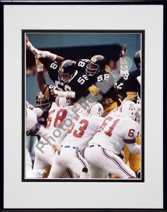 "Jack Lambert, Earl Holmes, and L. C. Greenwood ""Steel Curtain"" Double Matted 8"" X 10"" Photograph in"