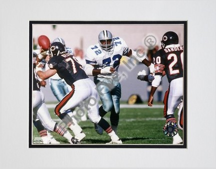 "Ed ""Too Tall"" Jones Action Double Matted 8"" X 10"" Photograph (Unframed)"