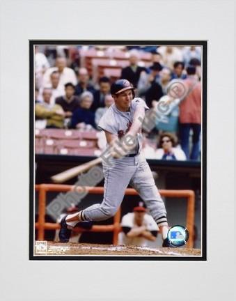 "Brooks Robinson ""Batting"" Double Matted 8"" X 10"" Photograph (Unframed)"