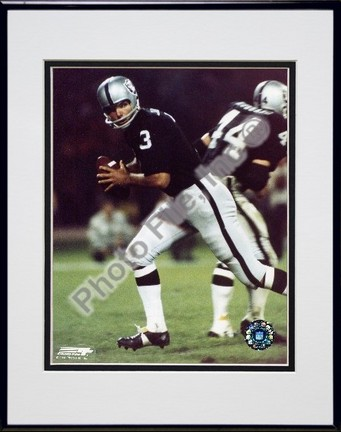 """Daryle LaMonica """"Action"""" Double Matted 8"""" x 10"""" Photograph in Black Anodized Aluminum Frame"""