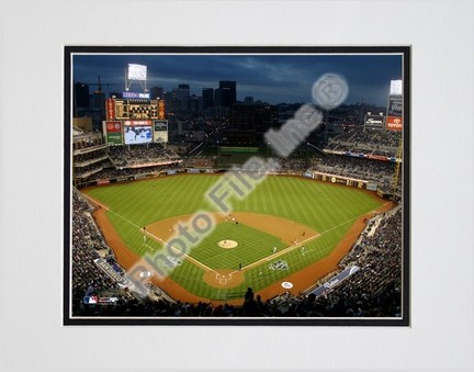 """Petco Park Double Matted 8"""" X 10"""" Photograph (Unframed)"""