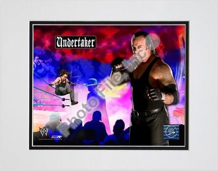 "Undertaker #238 Double Matted 8"" x 10"" Photograph (Unframed)"