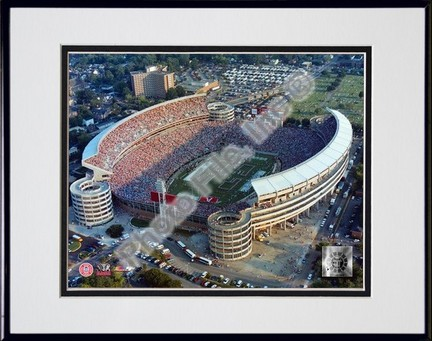 "Alabama Crimson Tide ""Bryant Denny Stadium"" Double Matted 8"" x 10"" Photograph in Black Anodized Alum"