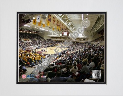 """Boston College Eagles """"Conte Forum"""" Double Matted 8"""" x 10"""" Photograph (Unframed)"""