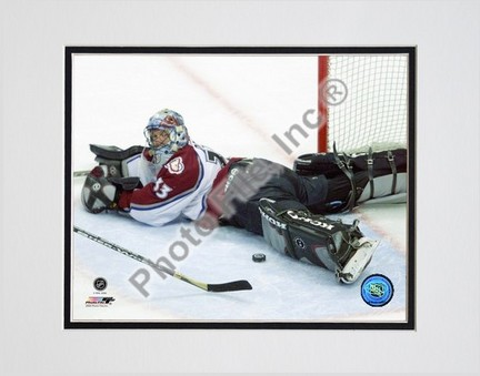"Patrick Roy ""Action - Horizontal"" Double Matted 8"" x 10"" Photograph (Unframed)"