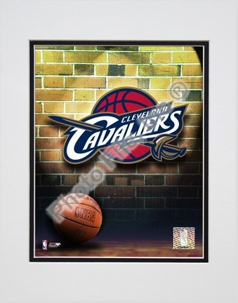 """Cleveland Cavaliers """"2006 Logo"""" Double Matted 8"""" X 10"""" Photograph (Unframed)"""